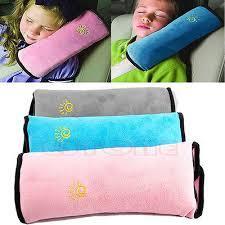כרית נוחה לילדים להלבשה על חגורת הבטיחות ברכב במבחר צבעים ל...