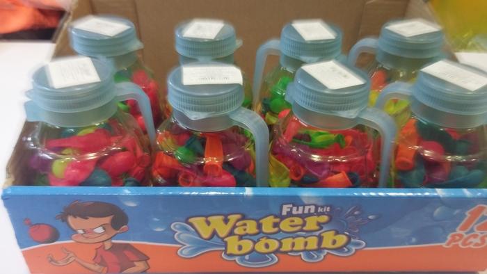 לשעות של שקט מהילדים !  2 בקבוקי פלסטיק מדליקים עם כ-140 בל...