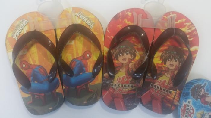 נעלי אצבע לילדים עם הדמויות האהובות על הילדים ספיידרמן ובקו...
