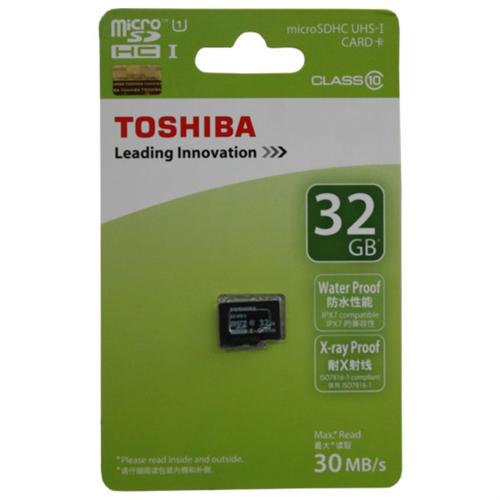 כרטיס זיכרון מבית  - TOSHIBA 32G מתאים לכלל המצלמות עם חרי...