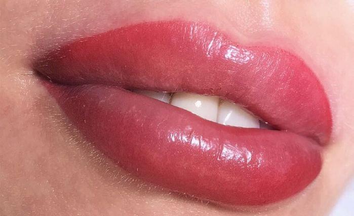 איפור קבוע לשפתיים ל 3 מפגשים  ללא מילוי בהרצליה פיתוח במ...