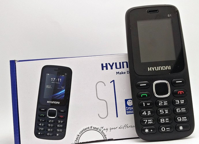 פאלפון  נייד Hyundai s1 דור 2 כולל מצלמה ,בלוטוס,רדיו FM פנ...