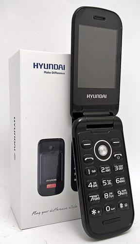פאלפון  נייד Hyundai G7 דור 3 עם לחצן SOS ומטען שולחני  כול...