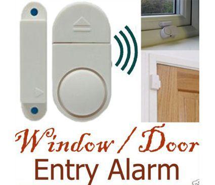 אזעקה רבת עוצמה להצמדה על חלון או דלת ללא חוטים וללא התקנה, ...