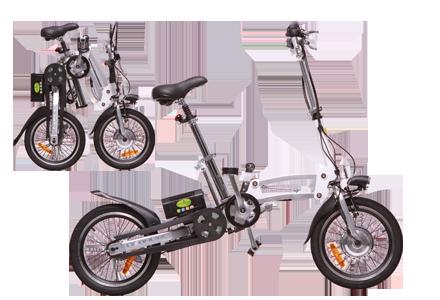 אופניים חשמליות מתקפלים דגם HENDRIX 16 מבית GreenBike...