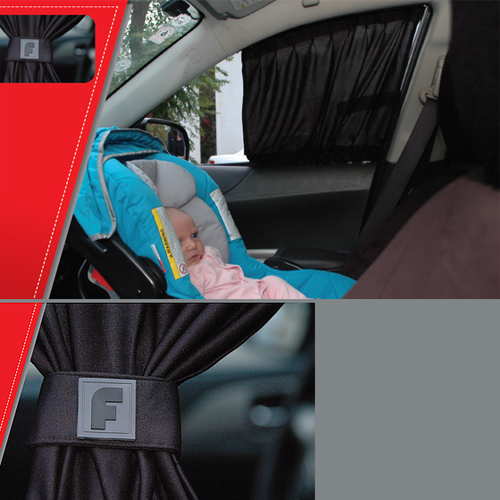 קיט וילונות צד PERFECT לרכב להצללה מושלמת רק 99 ₪ התקנה עצמי...