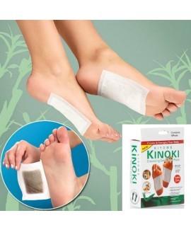 לבריאות : 10 מדבקות KINOKI לניקוי רעלים המצטברים בגוף !!! כו...