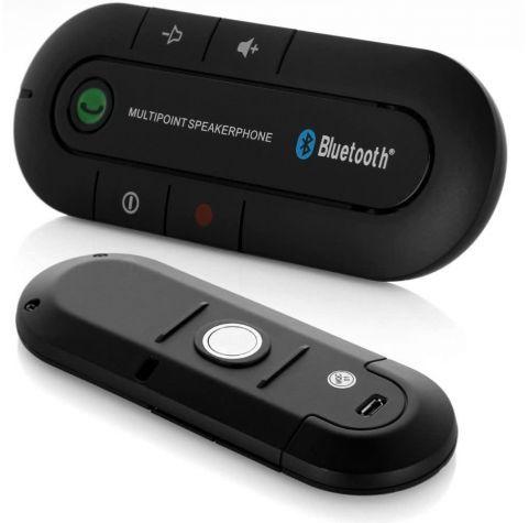 דיבורית bluetooth ניידת לרכב, היא דיבורית דקה, אלגנטית וקלה...