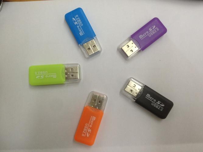 קורא כרטיסי זיכרון Micro SD בתקן USB