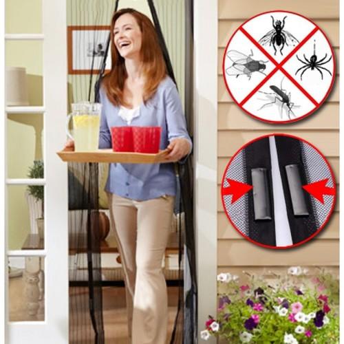 די ליתושים ושאר מזיקים! רשת הפלא, וילון רשת הנסגר הרמטית בא...