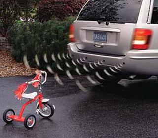 חיישני רוורס יוקרתיים לרכב, כולל תצוגת LED  אפשרות להתקנ...