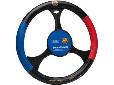 כיסוי הגה מפואר של קבוצת הכדורגל ברצלונה מוצר איכות לרכב למ...