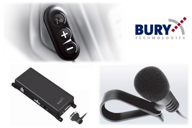 דיבורית בלוטוס קבועה לרכב דגם בורי 9040 כולל התקנה חינם !! ר...