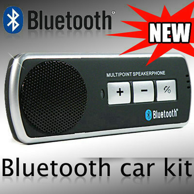 דיבורית Bluetooth לרכב המתחברת לשני מכשירים בו זמנית ...