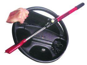 מנעול הגה קשיח לרכב מגן מפני  גנבים מתאים לכל סוגי הרכב בסלו...