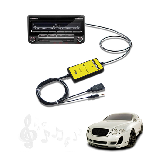 מהיום אין צורך בדיסקים ...מתאם USB  AUX לרכב מסוג מאזדה 3 רק...