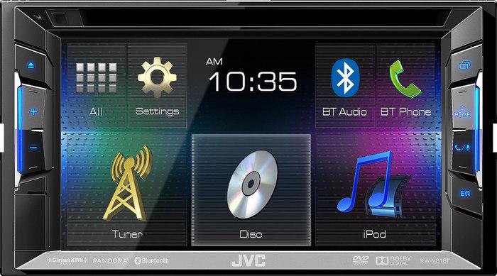 דיל פצצה במחיר מציאה !! מערכת מולטימדיה לרכב JVC KW-V21BT ד...