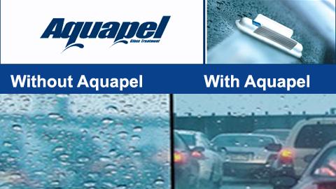 שתהיה לך נסיעה בטוחה עם AQUAPEL הפטנט העולמי! ציפוי הדוחה מ...