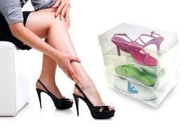 סט ייחודי של 10 קופסאות שקופות ומעוצבות לנעליים  רק ₪99...