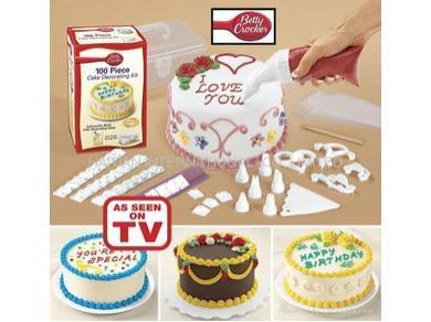 ערכת ה 100 חלקים להכנת עוגה Betty Crocker רק 49 ₪ !!! ...