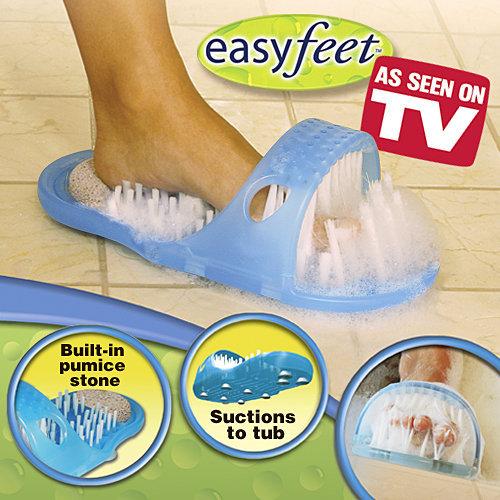 מכשיר לניקוי כף הרגל בעת הרחצה ביתר קלות ונוחות. הניקוי מת...