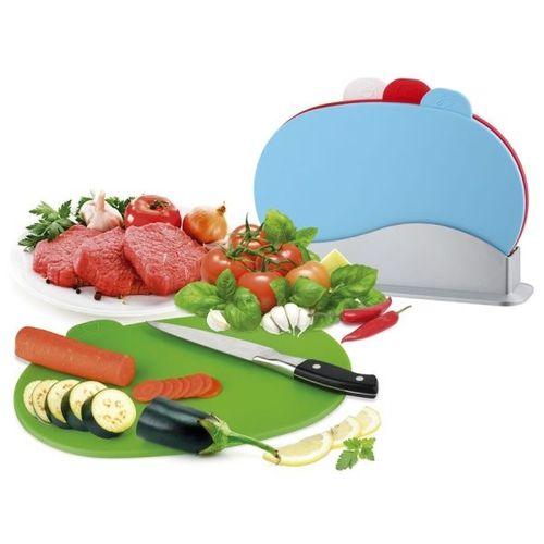במטבח שלכם תמיד יהיה סדר וניקיון - סט 4 קרשי חיתוך כולל מאר...