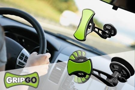 מעמד הפלאפונים לרכב GripGo עם ראש המסתובב 360 מעלות רק 10 ₪...