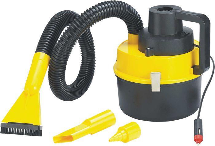 שואב אבק עגול לרכב יבש/רטוב בעל עוצמה של 120 וולט חזק במיוחד...