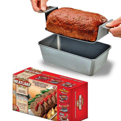 ה perfect meatloaf pan היא הדרך החדשה להכין, לאפות ולהגיש...