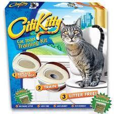 ערכת לימוד לחתול לעשיית צרכים בשירותים רק 79 ₪ !!!...