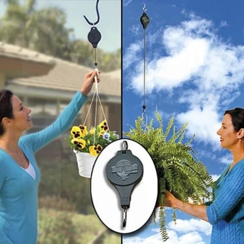 מתלה עציצים חכם EASY REACH המתלה החכם בעל מנגנון המשיכה הי...