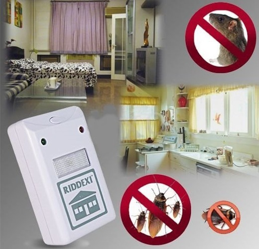דוחה חרקים חשמלי RIDDEX רק 79 ₪ !!!