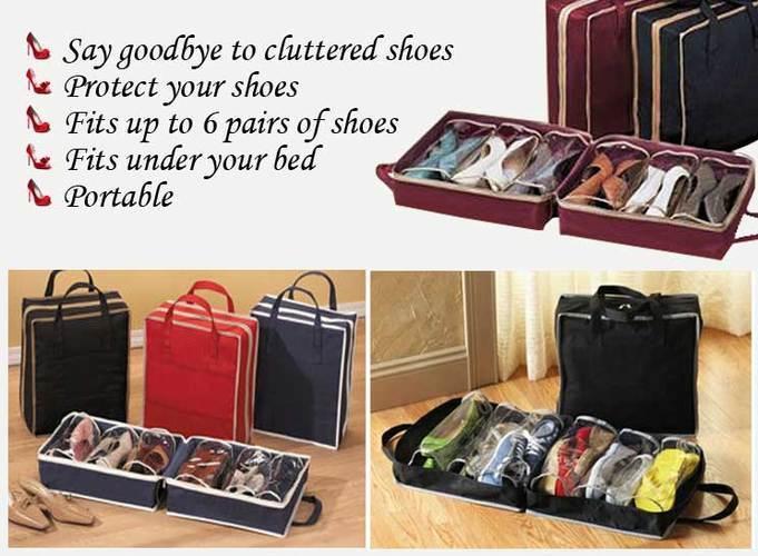 הכירו את מזוודת הנעליים הייחודית המאפשרת לקחת עד 6 זוגות נע...