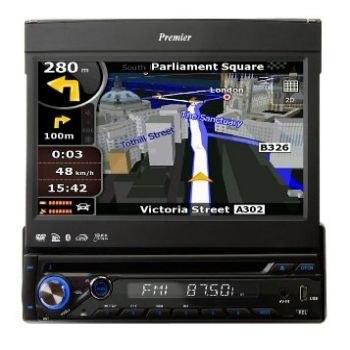 רדיו דיסק DVD DVD USB BT DVM7300 PREMIER מסך טאץ 7