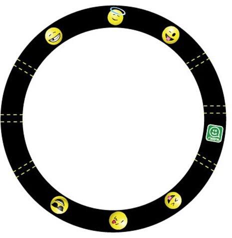 כיסוי הגה שחור צהוב אימוג'י סמיילי רק 45 ₪ !!!...