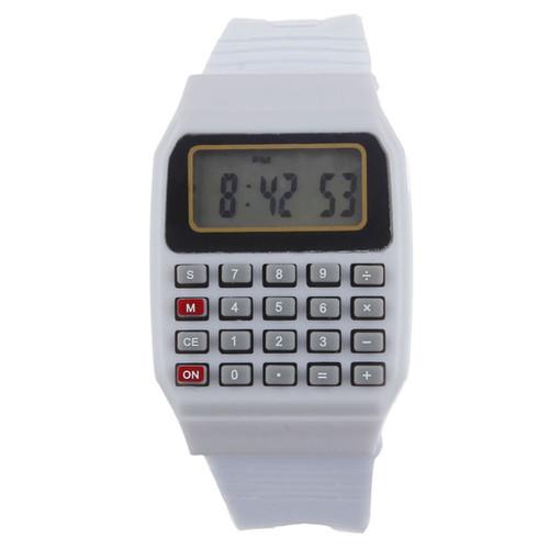 שעון רטרו מדליק ! שעון עם מחשבון פותר כל בעיה בחשבון ! רק ב...