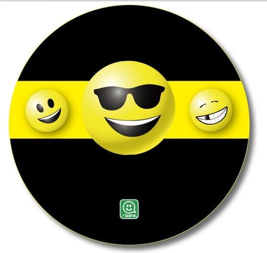 כיסוי לגלגל רזרבי  4x4 אמוג'י סמיילי רק 99 ₪ !!!...