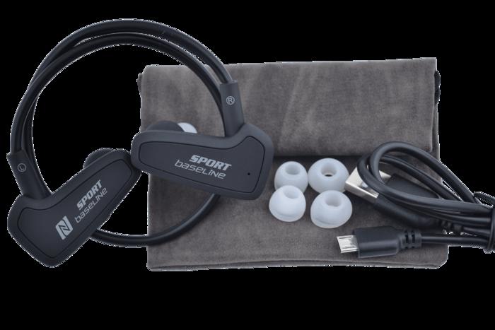 אוזניית ספורט bluetooth מבית BaseLine. מתאים לכלל המכשירים...