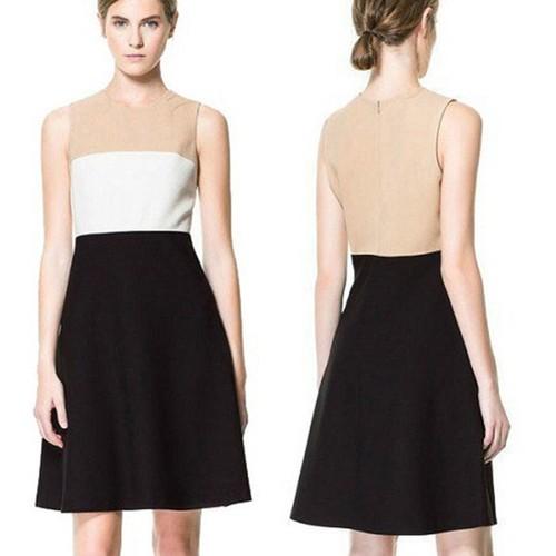 שמלה אופנתית three color משדרגת כל הופעה ! במחיר הזול ביותר...