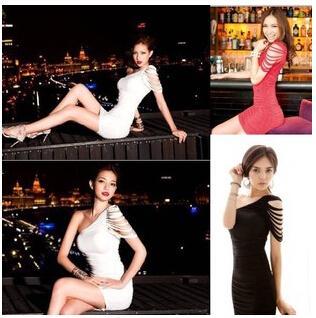 שמלת מיני אופנתית, ללוק מושלם, בשחור אדום או בלבן במחיר שלא...