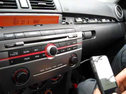 כבל AUX מקורי לרכב מסוג מאזדה 3 רק 125 ש