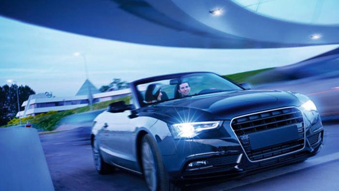 זוג נורות לרכב בעלי תאורה לבנה, לשדה ראיה טוב יותר ולהשגת מר...