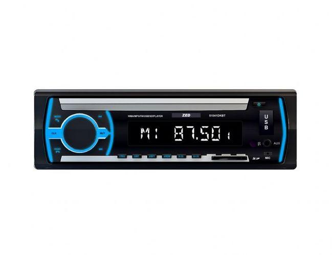 רדיו בלוטוס לרכב ZAD כולל USB,OUX כולל התקנה במחיר מציאה רק ...