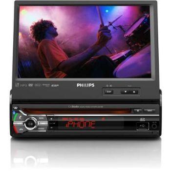 רדיו דיסק DVD לרכב בעברית מלאה PHILIPS CED780 כולל GPS מובנ...