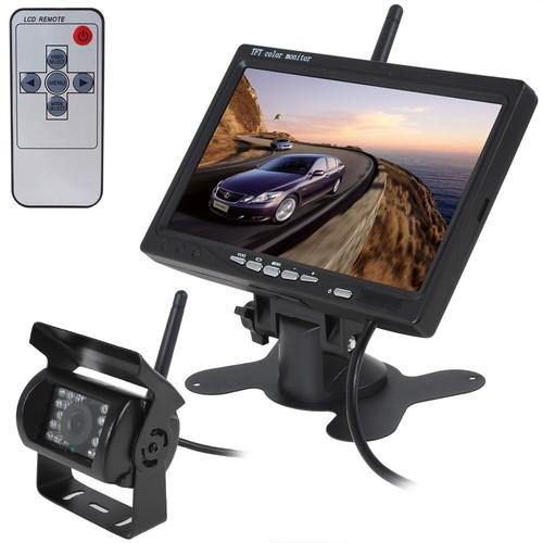 מצלמת רוורס כולל מסך 7 אינץ למשאית רק 999 ש