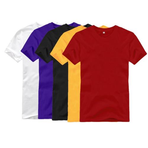 חולצות קצרות חלקות איכותיות 100% כותנה סרוקה ! מתאימות גם ל...