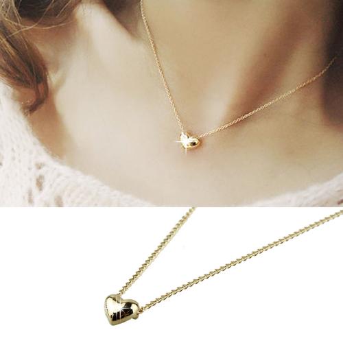 מתנה חינם ! ללקוחות COUPO ! שרשרת בצבע זהב עם תליון לב אלגנ...