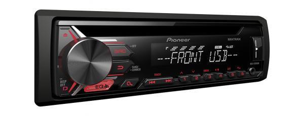 רדיו דיסק MP3,כניסת USB/AUX קדמית מבית pioneer דגם DEH-X195...