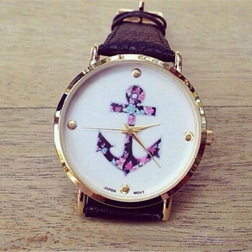 חגיגת שעונים ב- COUPO ! שעון יד עוגן, אלגנטי וקלאסי לנשים, ...
