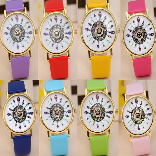 חגיגת שעונים ב- COUPO ! שעון יד נוצות אינדיאני, אלגנטי וקלא...